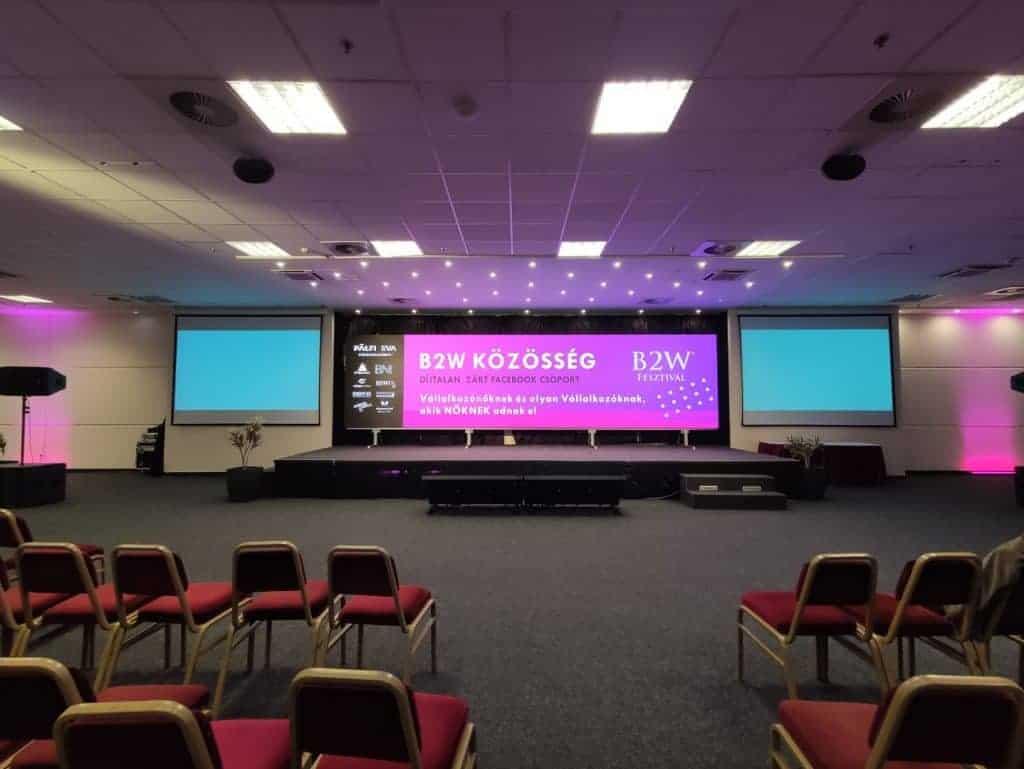 Ledfal bérlés konferenciára
